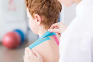 Children with Cerebral Palsy Improve Sitting with Kinesio Taping