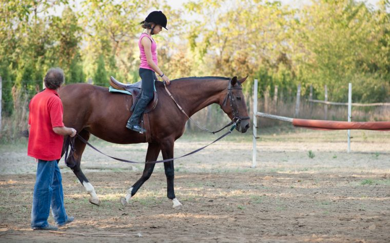 horse riding therapy