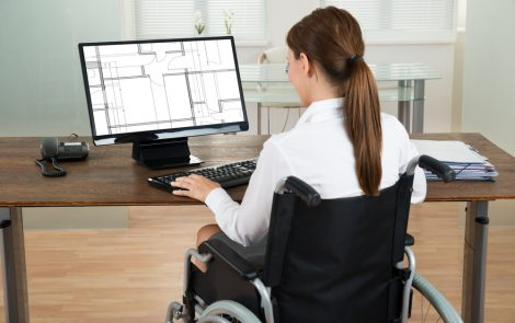 People With Disabilities Striving to Work, Working Well, Survey Says