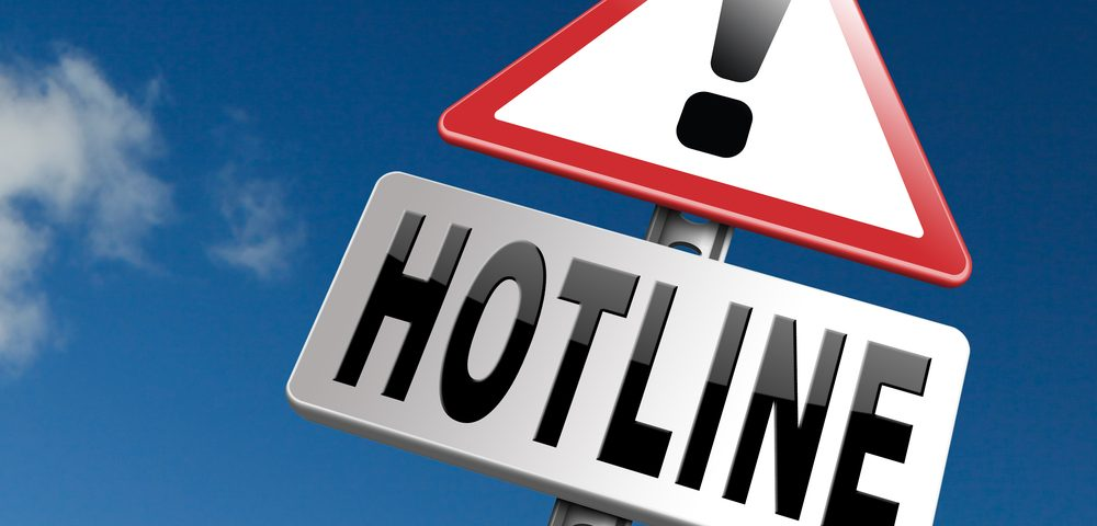 Support Hotlines are Numerous and Beneficial Resources