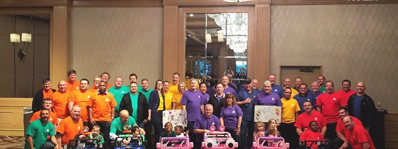 Axalta Joins GoBabyGo! in Creating Custom 'Cars' for Toddlers with Cerebral Palsy and Other Disabilities