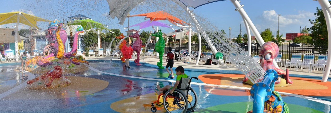 Joy Is Inclusive at the New Morgan's Inspiration Island Water Park