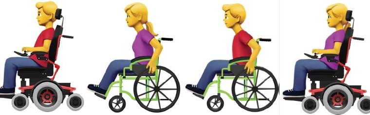 Apple emoji disabilities