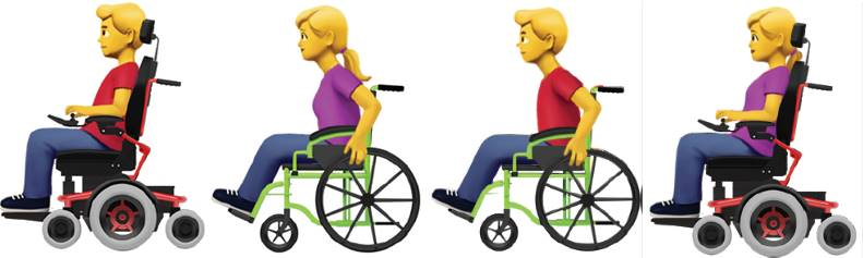 Apple Proposes New Emoji to Represent People with Disabilities